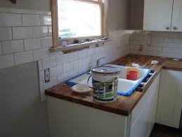 instant classic subway tile in the kitchen our corner house