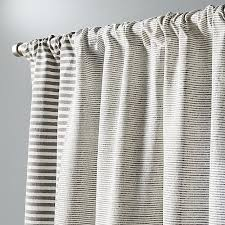 Curtains Printed Designs Block Printed Stripe Curtain Panel 48