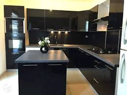 cuisine noir laqué cuisine noir laque pas cher cuisine laquace pas cher meuble de