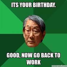 Asian Birthday Meme - birthday