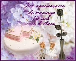 anniversaire mariage 10 ans a1 anniversaires de mariage