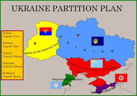 russia map before partition how will ukraine look like after the crisis