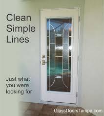 Decorative Glass Doors Interior Bathroom Door To Lanai Has Modern Decorative Glass Door Insert For