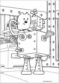 wow wow wubbzy coloring page 007 coloringbook org