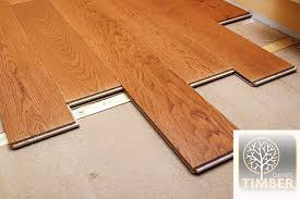 how to install an engineered floor