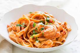 Dinner Ideas With Shrimp And Pasta Shrimp Pasta Alla Vodka Recipe With Video Simplyrecipes Com