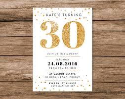 30th birthday invitation 30th birthday invitation with exquisite