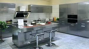 cuisine blanche et grise deco cuisine gris blanc noir cethosia me
