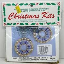 sulyn gold princess sequin bead beaded christmas ornament kit