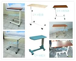 bed table on wheels bedside tray table on wheels side table hospital bed table on wheels