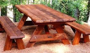 picnic table bench plans diy picnic table simple picnic table bench plans pyknicwear com