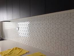 Kitchen Tiles Ideas For Splashbacks Beautiful Diamond Mosaic Splashback Project Gallery Pinterest