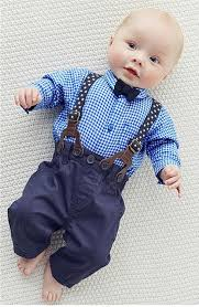 toddler baby boy gentleman bow tie sleeve shirt
