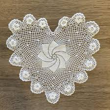 heart shaped doilies plum heart shaped doilies white 6 inch set of 12 accent linens