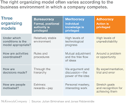 adhocracy for an agile age mckinsey u0026 company
