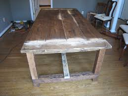 start how to make a diy farmhouse dining room table restoration