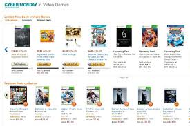amazon black friday lightning video game deals amazon cyber monday 2013 video game deals