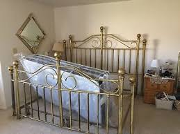 king brass bed ebay