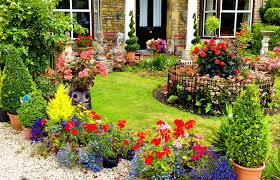 Creative Country Garden Home Design Image Contemporary At Country