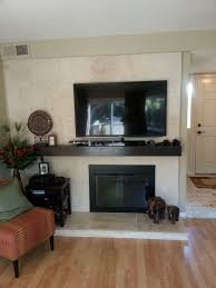 limestone or travertine tile as fireplace surround used 18 x 18