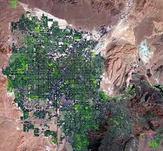 Las Vegas Map 2015 by Las Vegas Nevada Usa Earthshots Satellite Images Of