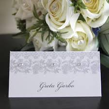 wedding place wedding place card name card by 2by2 creative