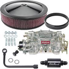 edelbrock 1406k2 performer 600 cfm carburetor kit jegs