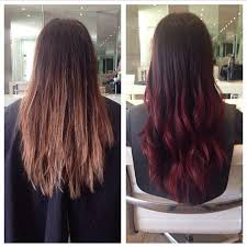 how long does hair ombre last best 25 brown to red ombre ideas on pinterest red ombre dark