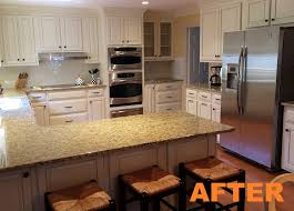 100 kitchen cabinet refacing before and after photos