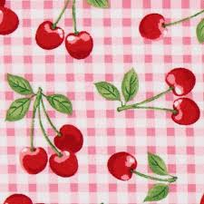 Cherry Kitchen Curtains 62 Best Cherry Fabric Images On Pinterest Cherry Fabric