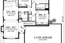 1500 Sq Ft Ranch House Plans Ranch Style House Plan 3 Beds 2 Baths 1500 Sq Ft Plan Affordable