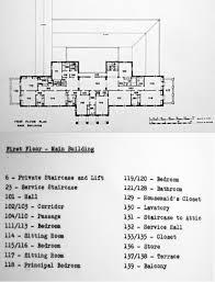 As Built Floor Plans Rio De Janeiro U2013 Before 1944 Room For Diplomacy