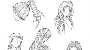 how to draw hairstyles learn how to draw hair for boys hair people