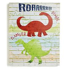 dino registry imagine dino doodles canvas wall buybuy baby