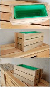 the 25 best pallet boxes ideas on pinterest rustic storage