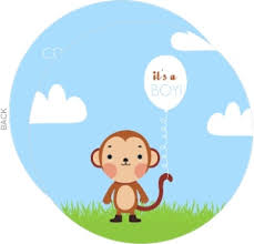 baby shower monkey monkey baby shower invitations