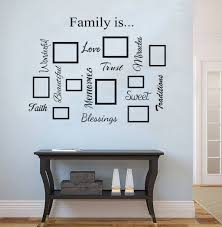 wall word art quotes shenra com photo frame family quote word collage wall art decal wall
