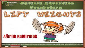 physicaleducation vocabulary youtube