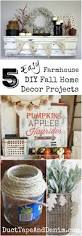 5 easy farmhouse diy fall home decor projects fall decor