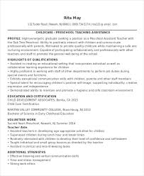 Teacher Assistant Job Duties Resume by 25 Teacher Resume Formats Free U0026 Premium Templates