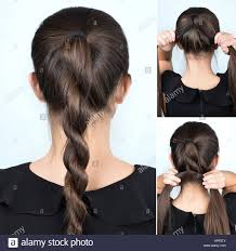 simple hairstyle twisted plait tutorial hairstyle for long hair