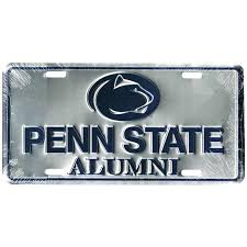 penn state alumni license plate student book store penn state alumni license plate