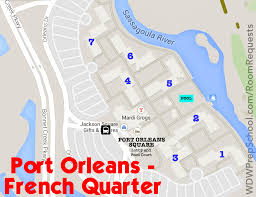 New Orleans Map French Quarter by How To Get The Disney World Resort Room You Want