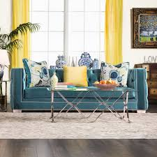 Turquoise Tufted Sofa by Salvatore Collection Sm2282 Furniture Of America Sofa U0026 Loveseat Set