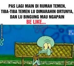 Meme Comic Indonesia Spongebob - meme comic spongebob tentang cinta medsos kini