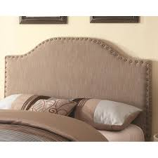 Headboards Upholstered Beds Helena Upholstered Headboard With Bonnet Shaped