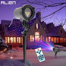 Projector Lights For Christmas by Alien Rgb Remote Static Star Dots Laser Projector Light Garden