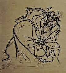 the beast u0027 drawing video cartoon project by nataliebeth on