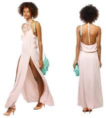 blush maxi dress blush solemio neck maxi maxi dress on tradesy