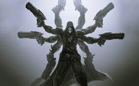 overwatch halloween background video video game overwatch reaper overwatch wallpaper overwatch